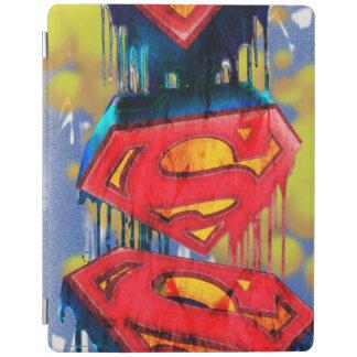 Superhombre Spraypaint urbano Cover De iPad
