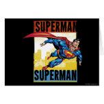 Superhombre, superhombre felicitaciones