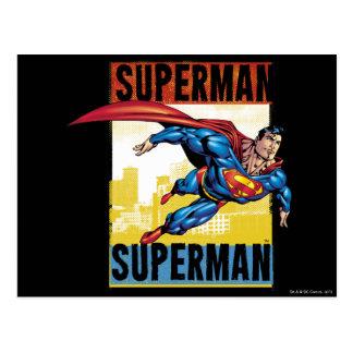 Superhombre, superhombre postales
