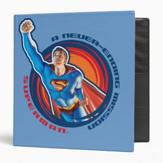 """Superhombre una misión interminable carpeta 1 1/2"""""""