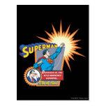 Superhombre y Clark Kent Postal