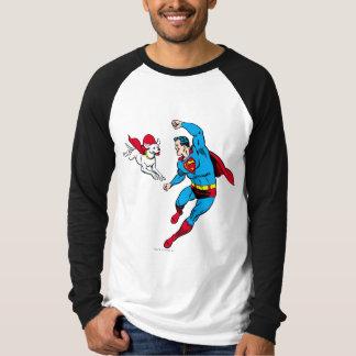 Superhombre y Krypto 2 Playera