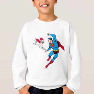 Superhombre y Krypto 2 Polera