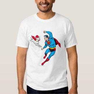 Superhombre y Krypto 2 Remeras