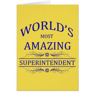 Superintendent Card