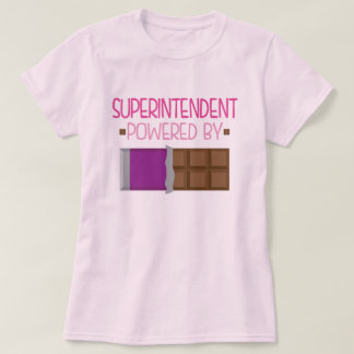Superintendent Chocolate Gift for Her Tee Shirt