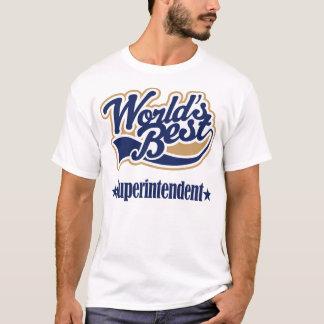Superintendent Gift For (Worlds Best) T-Shirt