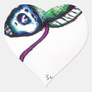 Superior Anterior View of Fukushima Daiichi MRK-I Heart Sticker