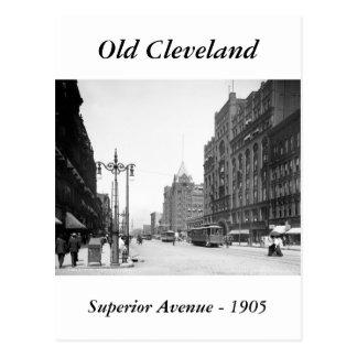 Superior Avenue, Cleveland: 1905 Postcard