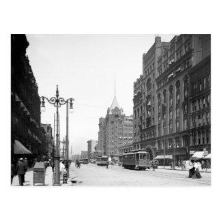 Superior Avenue, Cleveland: 1905 Post Card