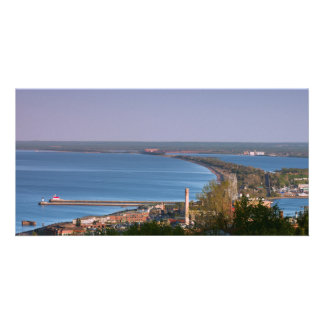 Superior Bay in Duluth Personalized Photo Card