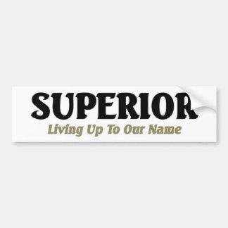 Superior Bumper Sticker