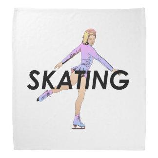 SUPERIOR chica del patinaje artístico Bandanas