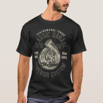 Superior Custom 1980 Vintage Style Muscle Car T-Shirt