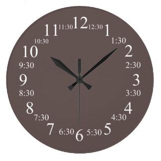 Superior de Wenge coloreado Relojes