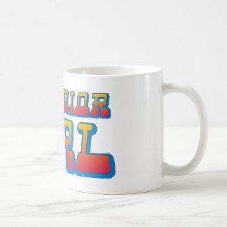 superior girl classic white coffee mug