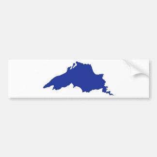 Superior Great Lakes Bumper Sticker