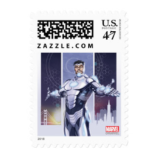 Superior Iron Man And City Postage