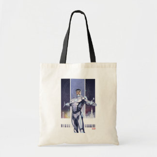 Superior Iron Man And City Tote Bag