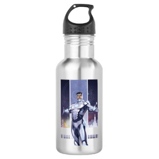 Superior Iron Man And City Water Bottle