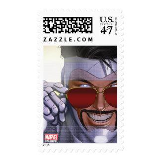 Superior Iron Man In Sunglasses Postage