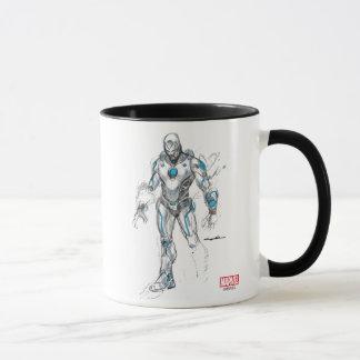 Superior Iron Man Sketch Mug