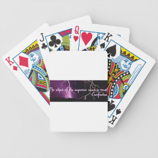 Superior man bicycle playing cards