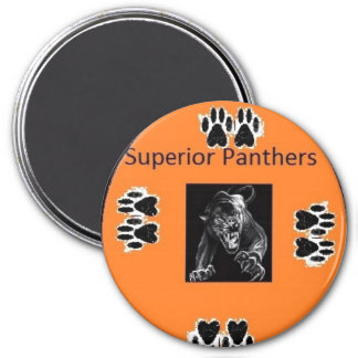 Superior, Panthers Magnet