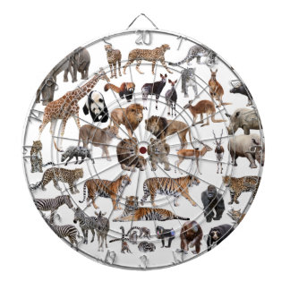 Superior product of animal of the world dartboard