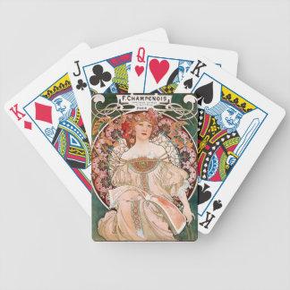 Superior product of miyushiya bicycle playing cards