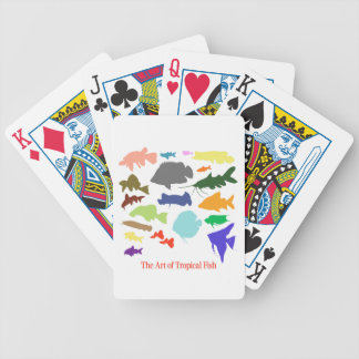 Superior product of shadow picture of color of bicycle playing cards