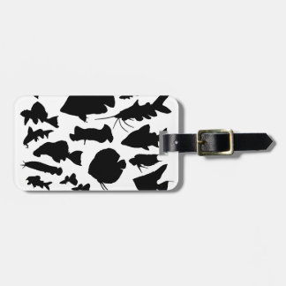 Superior product of shadow picture of fresh water luggage tag