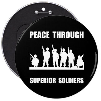 Superior Soldiers Pinback Button