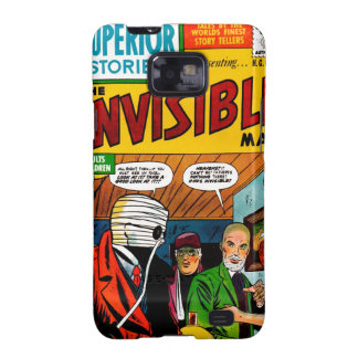 Superior Stories - The Invisible Man Samsung Galaxy S2 Covers