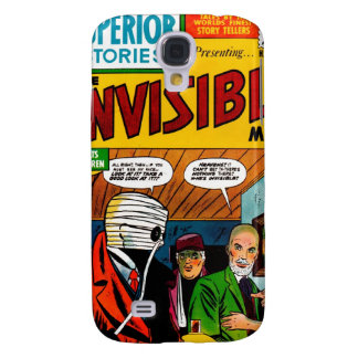 Superior Stories - The Invisible Man Samsung Galaxy S4 Covers