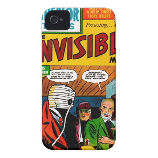 Superior Stories - The Invisible Man iPhone 4 Cases