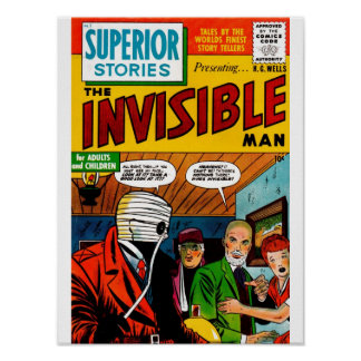 Superior Stories - The Invisible Man Poster