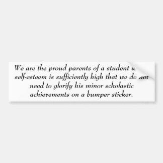 Superior Student Bumper Sticker