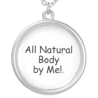 SUPERIOR todo el cuerpo natural Colgante Redondo