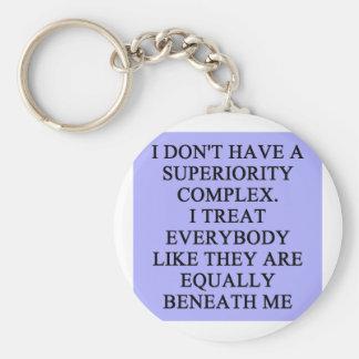 SUPERIORITY comblex Keychain