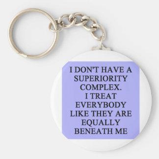 SUPERIORITY comblex Keychains