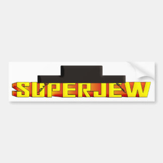 SuperJew Bumper Sticker
