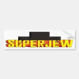 SuperJew Etiqueta De Parachoque