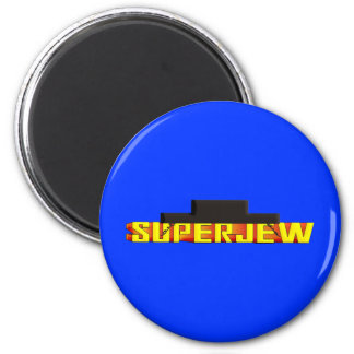 SuperJew Imán Redondo 5 Cm