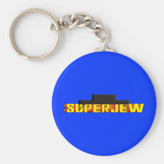 SuperJew Llavero Redondo Tipo Pin