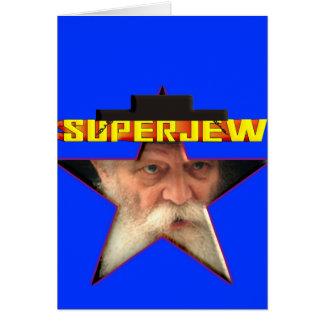 SuperJew Tarjeta De Felicitación
