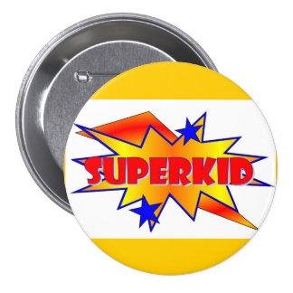 Superkid Pin Redondo 7 Cm