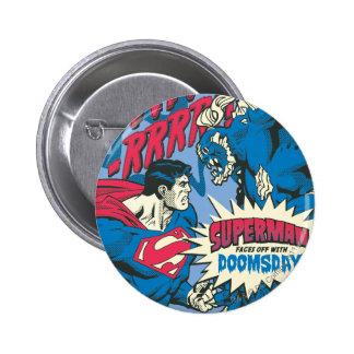 Superman 13 2 inch round button