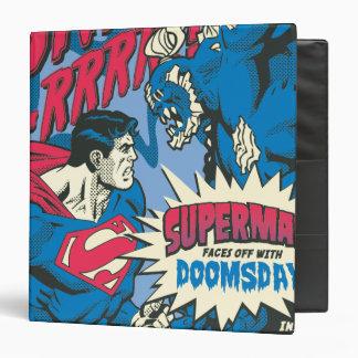 Superman 13 vinyl binders