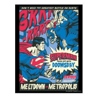 Superman 13 postcards